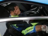 Hoy atacó. Contador se partió la tibia hace 48días