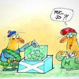 Avui Escòcia vota