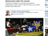 Espanya és la nostra millor carta. D'Europa, esperem-neres