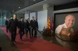 """Homenaje a Cruyff: """"Es imposible entender el Barcelona sinél"""""""
